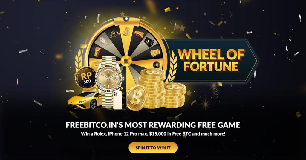 Wheel of Fortune Freebitco.in